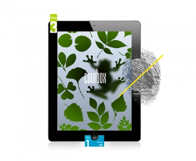 Colabox ฟิล์มด้าน iPad2,3,4 : The New iPad